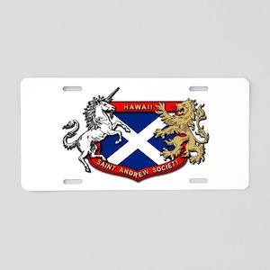 Sash Aluminum License Plate
