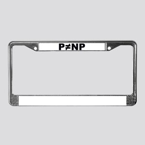 P!=NP License Plate Frame