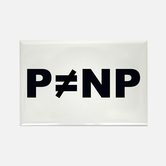 P!=NP Rectangle Magnet