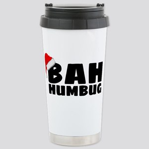 Bah Humbug Stainless Steel Travel Mug