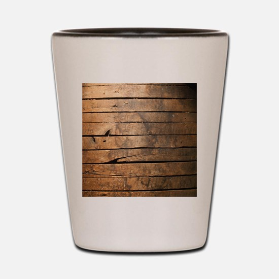 Wood Shot Glass