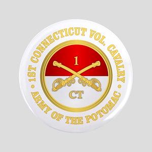 1st Connecticut Cavalry Button