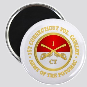 1st Connecticut Cavalry Magnets