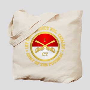 1st Connecticut Cavalry Tote Bag