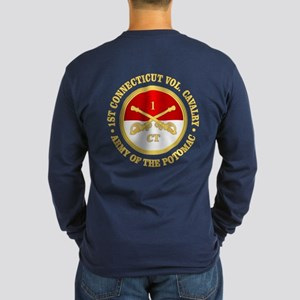 1st Connecticut Cavalry Long Sleeve T-Shirt