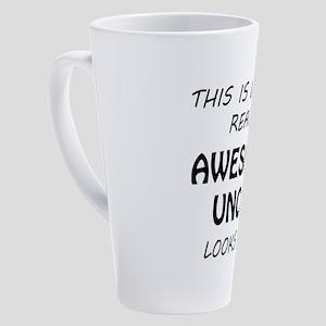 Awesome Uncle 17 oz Latte Mug