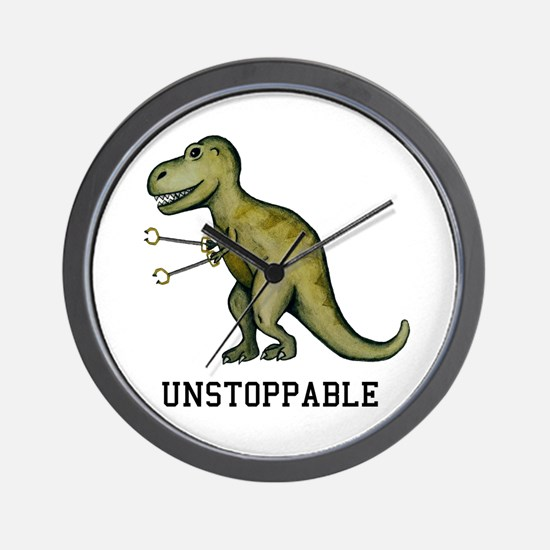 T-Rex Unstoppable Wall Clock