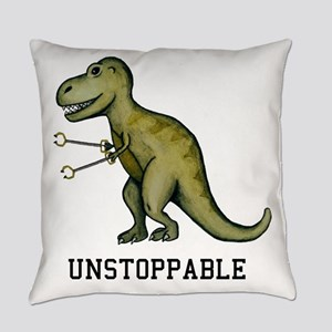 T-Rex Unstoppable Everyday Pillow