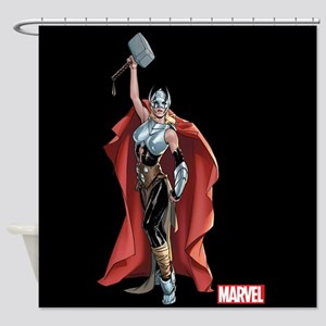 She Thor Shower Curtain