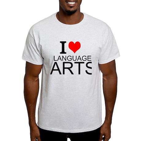 I Love Language Arts Classic Round Sticker | Zazzle |Love Language Arts