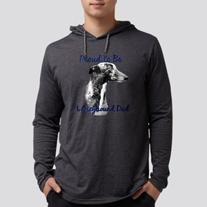 Greyhound Dad1 Long Sleeve T-Shirt