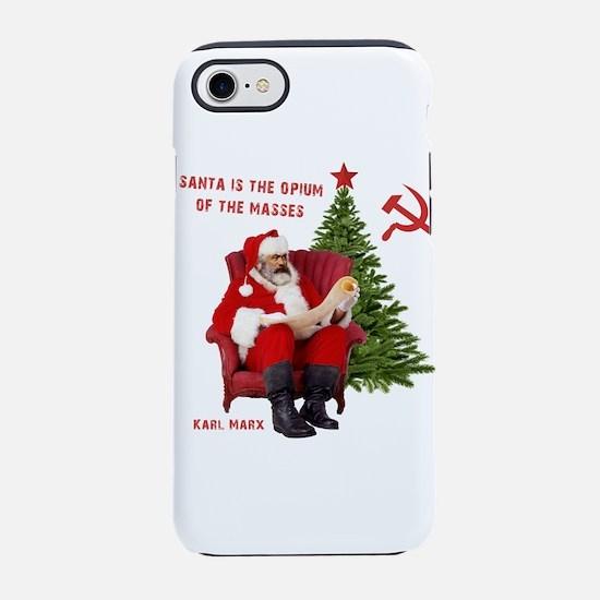 Karl Marx Santa iPhone 8/7 Tough Case