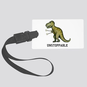 T-Rex Unstoppable Large Luggage Tag