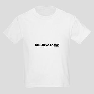 Mr. Awesome Kids Light T-Shirt