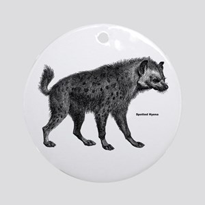 Spotted Hyena Ornament (Round)