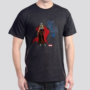 Female Thor Standing Dark T-Shirt
