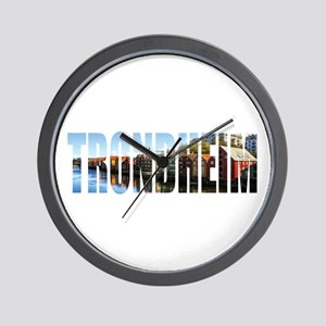 Trondheim Wall Clock