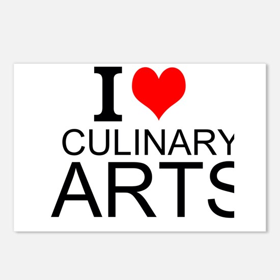 I Love Culinary Arts Postcards (Package of 8)