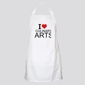 I Love Culinary Arts Apron