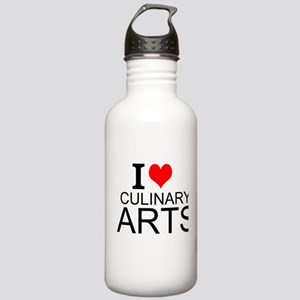 I Love Culinary Arts Water Bottle