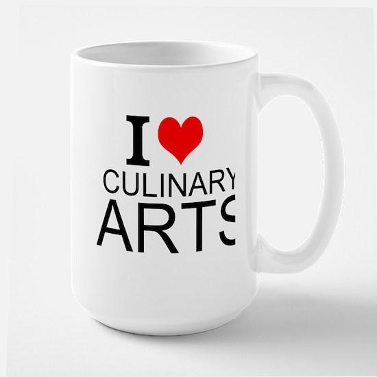 I Love Culinary Arts Mugs