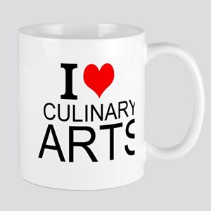 I Love Culinary Arts Mugs