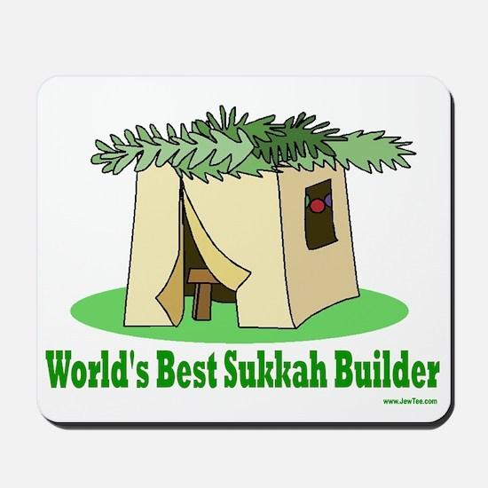 World's Best Sukkah Builder Mousepad