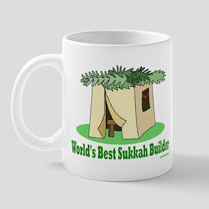 World's Best Sukkah Builder Mug