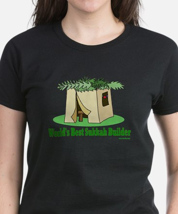 World's Best Sukkah Builder Women's Dark T-Shirt