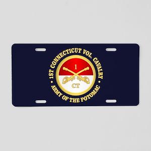 1st Connecticut Cavalry Aluminum License Plate