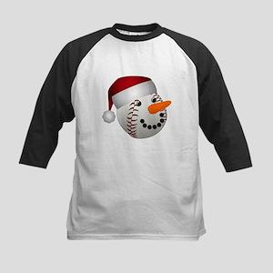 Christmas Baseball Snowman Baseball Jersey