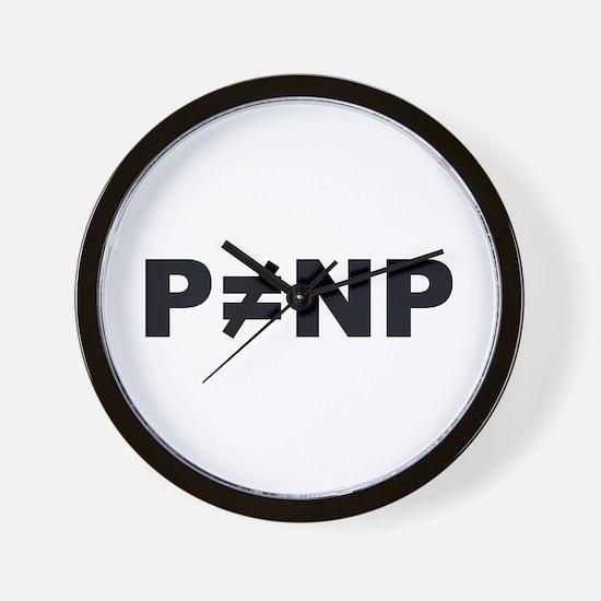 P!=NP Wall Clock