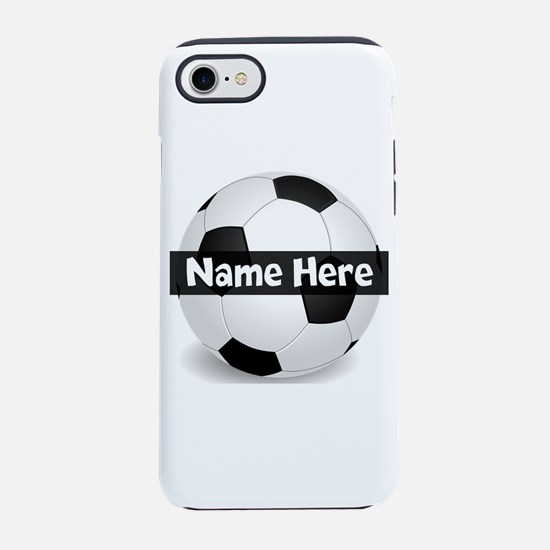 Personalized Soccer Ball Iphone 8/7 Tough Case