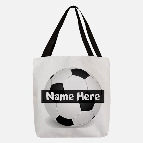 Personalized Soccer Ball Black/White Polyester Tot