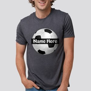 Personalized Soccer Ball Black/White T-Shirt
