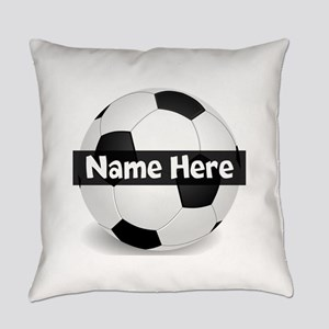 Personalized Soccer Ball Black/White Everyday Pill