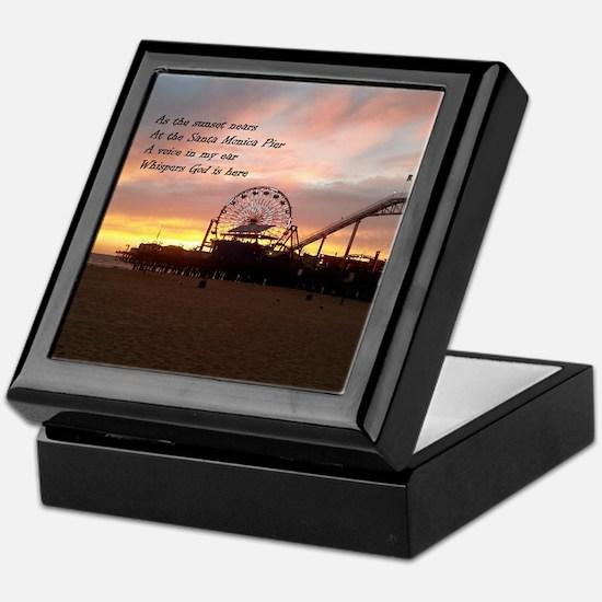 Unique Inspirational poem Keepsake Box