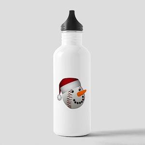 Christmas Baseball Sno Stainless Water Bottle 1.0L