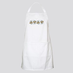 Jack Russell Puppies! BBQ Apron