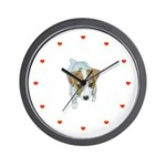 Jack Russell Puppies! Wall Clock