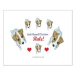 Jack Russell Puppies! Small Poster