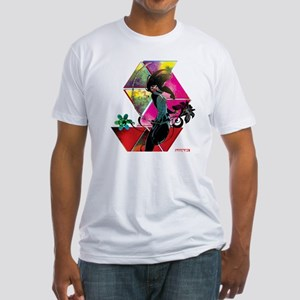 Silk Jumping Fitted T-Shirt