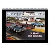 Drag racing Wall Calendars