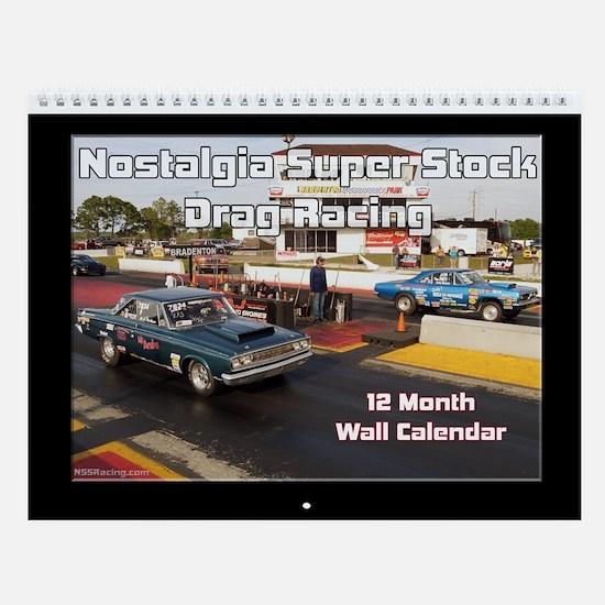 Nss Drag Racing Calendar Wall Calendar