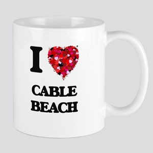 I love Cable Beach New Hampshire Mugs