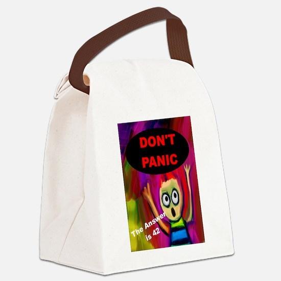 Cute Douglas adams Canvas Lunch Bag
