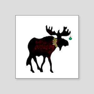 Decorated Moose Sticker