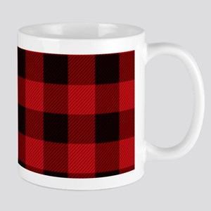 Red Plaid Mugs