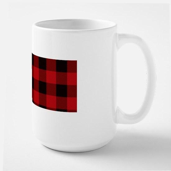 Red Plaid Mugs