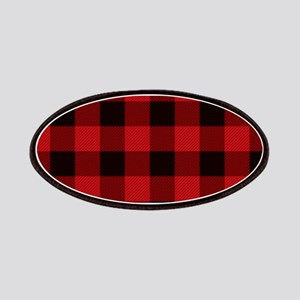 Red Plaid Patch
